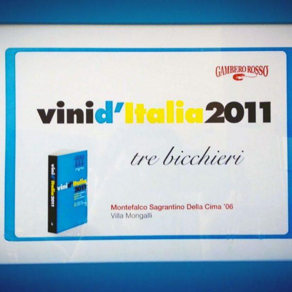 Vini d'Italia 2011 Montefalco Sagrantino Della Cima '06