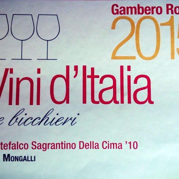 Vini d'Italia 2011 Montefalco Sagrantino Della Cima '10
